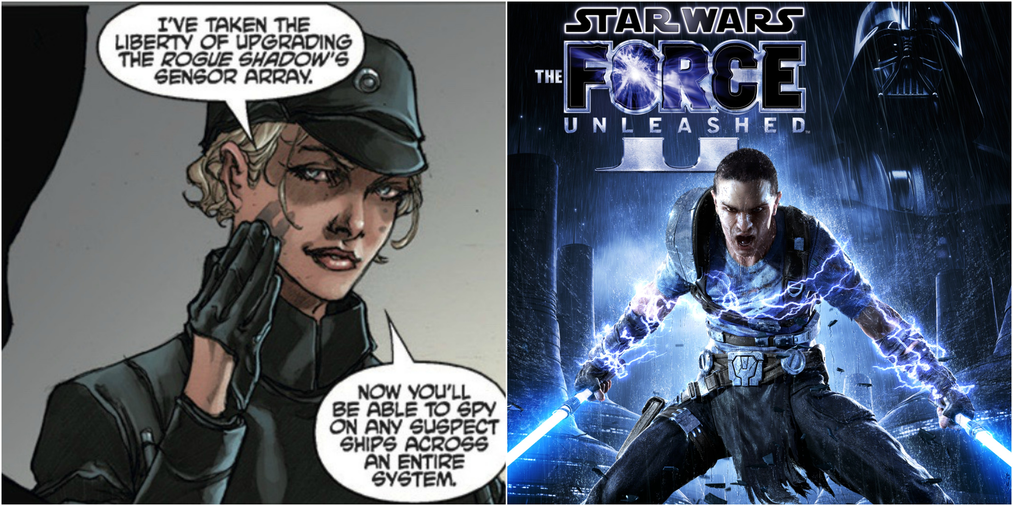 Force unleashed star book the wars comic